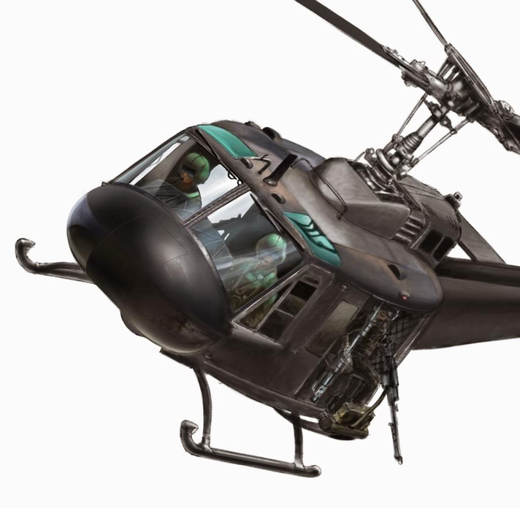 VNAF Huey Helicopter
